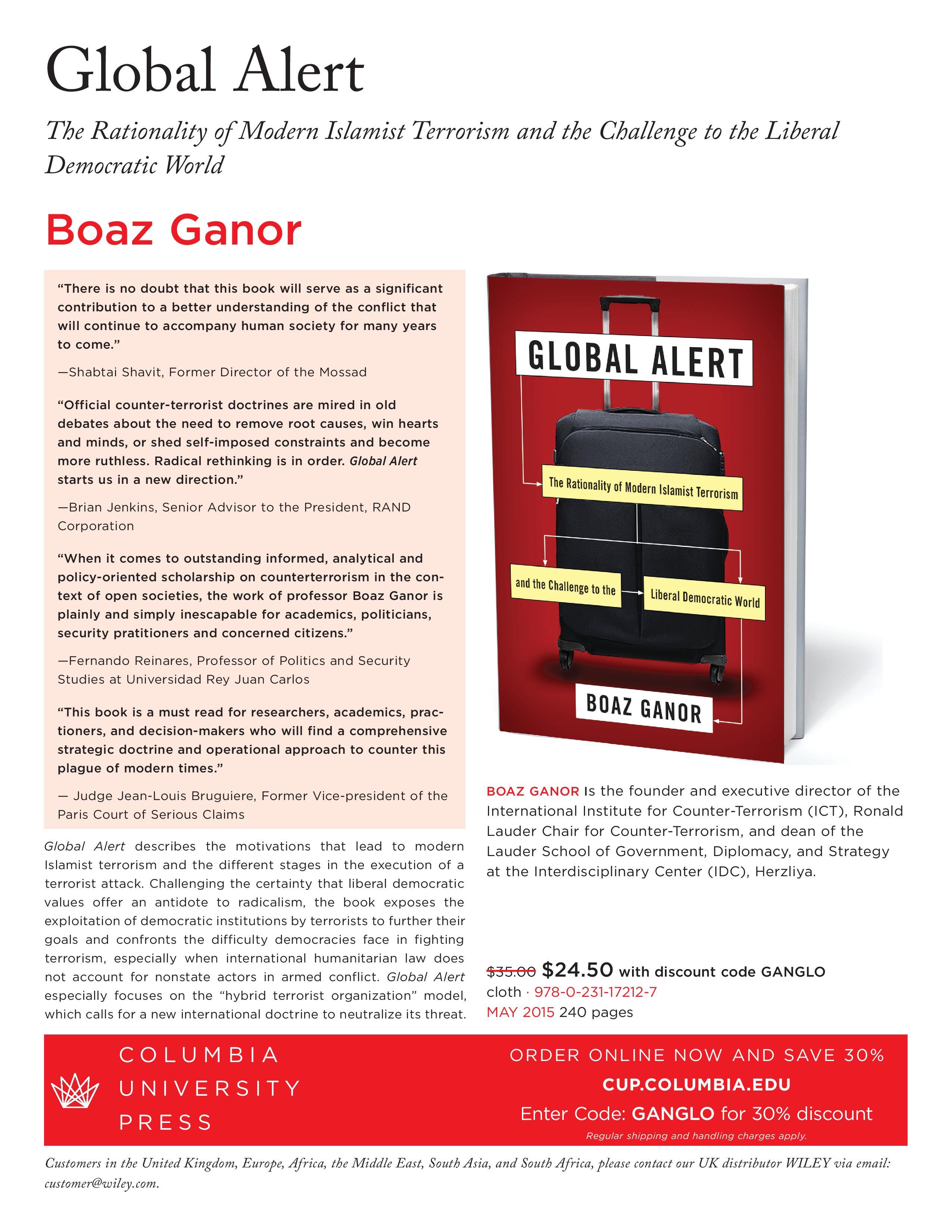 Ganor Globalalert Page