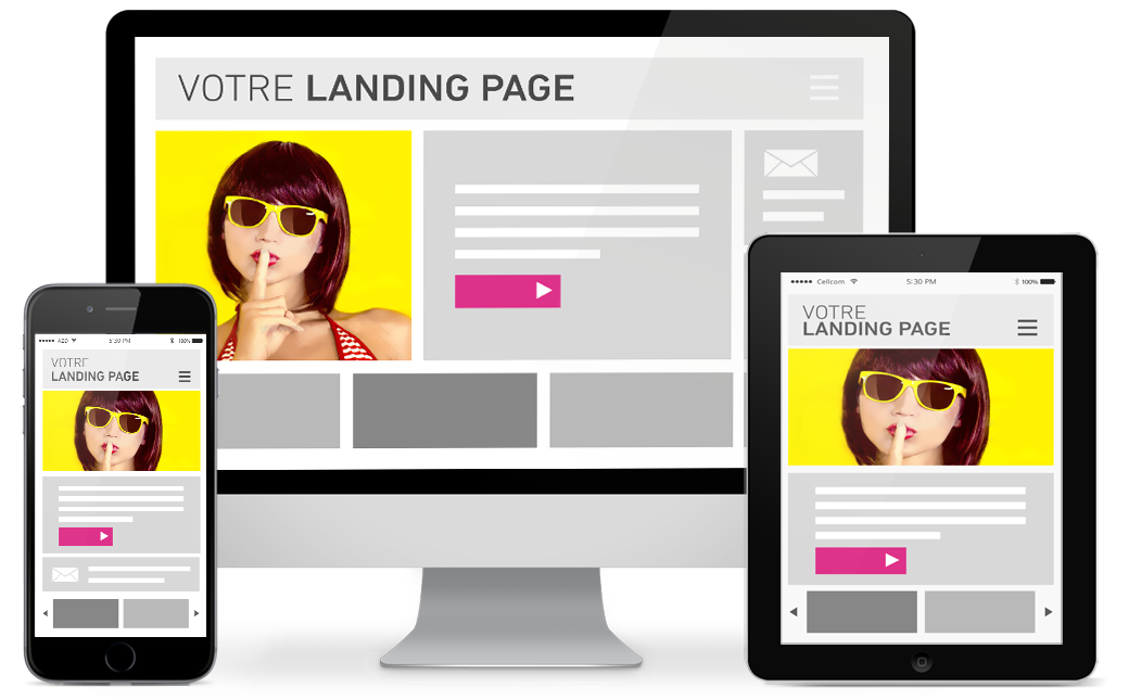 Votre landing page