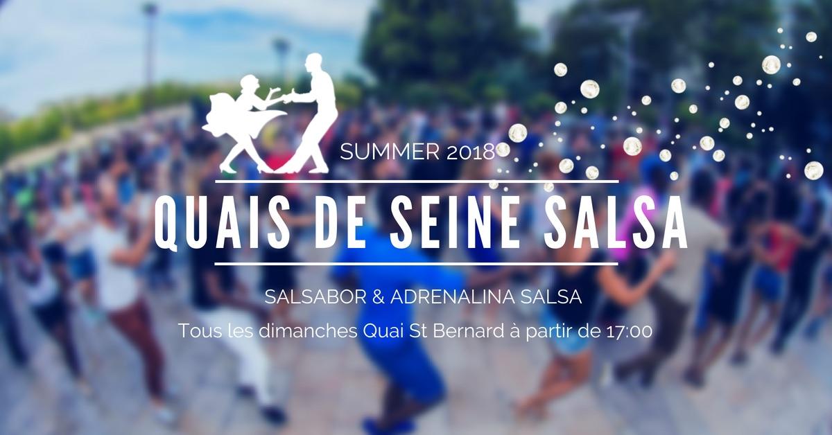 Quais de Seine Salsa avec Salsabor !