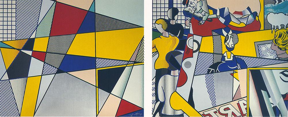 רוי ליכטנשטיין, ציור קיר מוזיאון תל אביב, 1989
