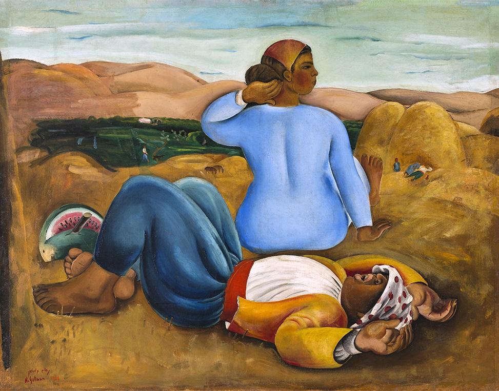 נחום גוטמן, מנוחת צהריים, 1926