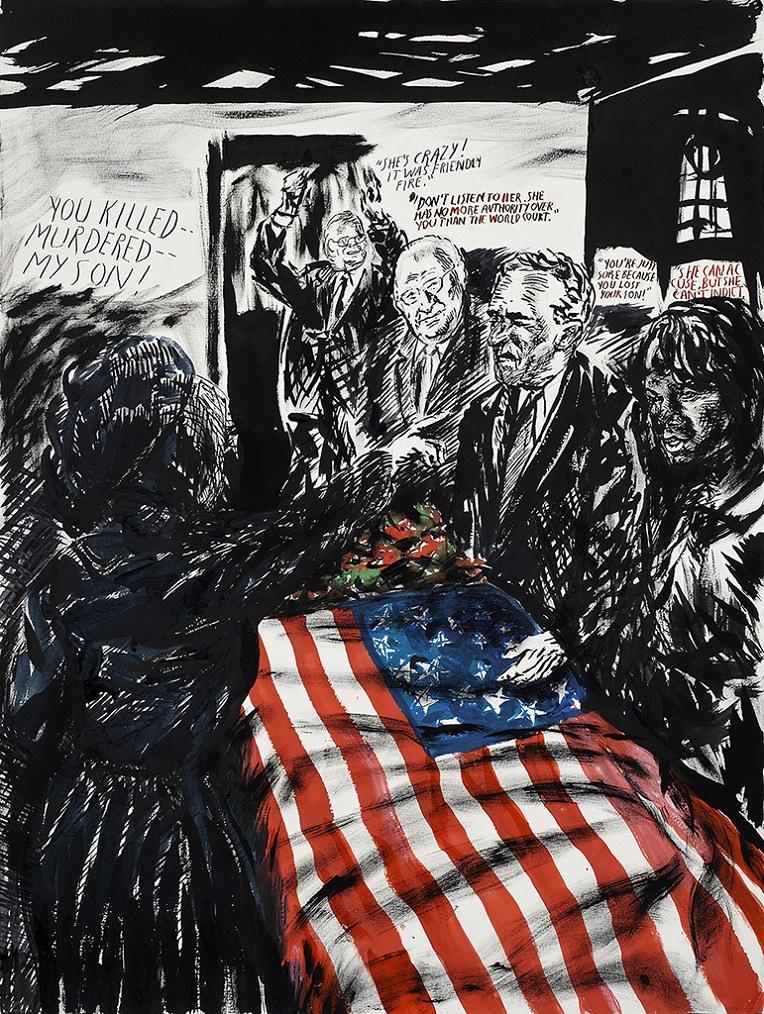 ריימונד פטיבון, ללא כותרת (אתה הרגת—רצחת--) 2007