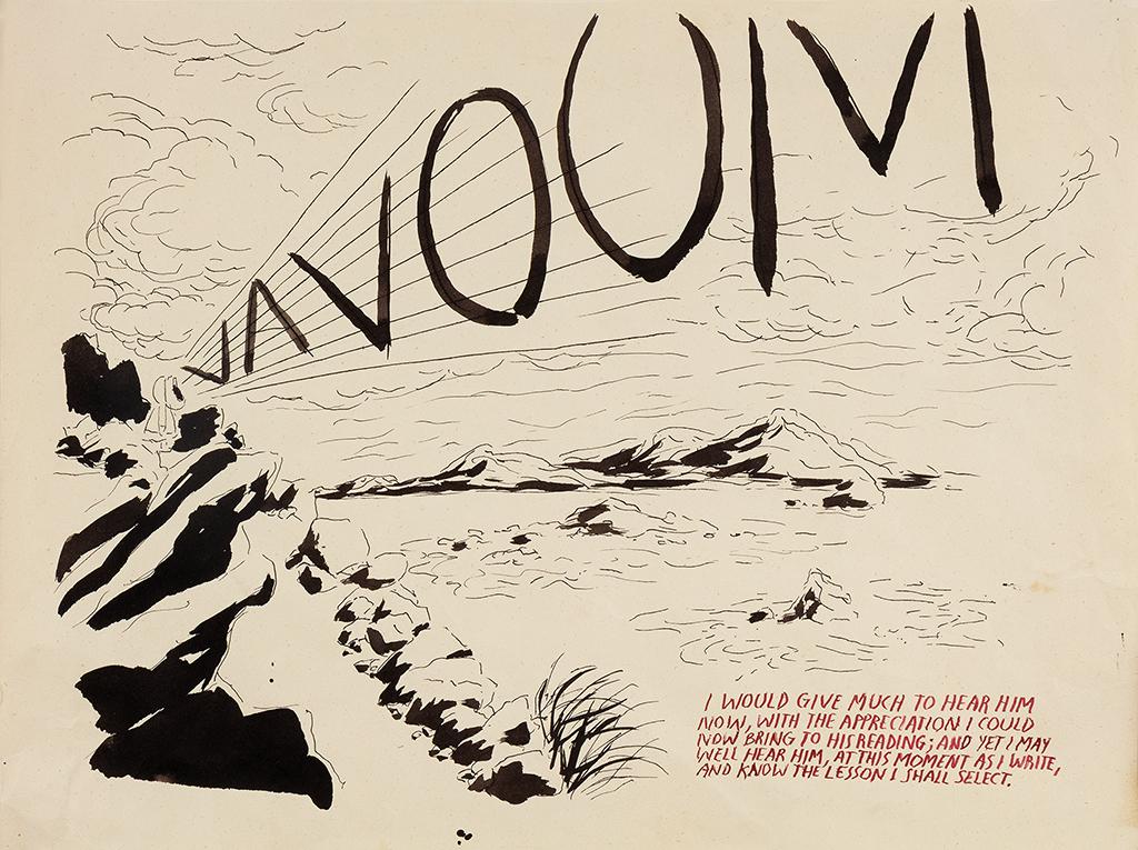 ריימונד פטיבון, ללא כותרת (ואווםּ / הייתי...), 1994