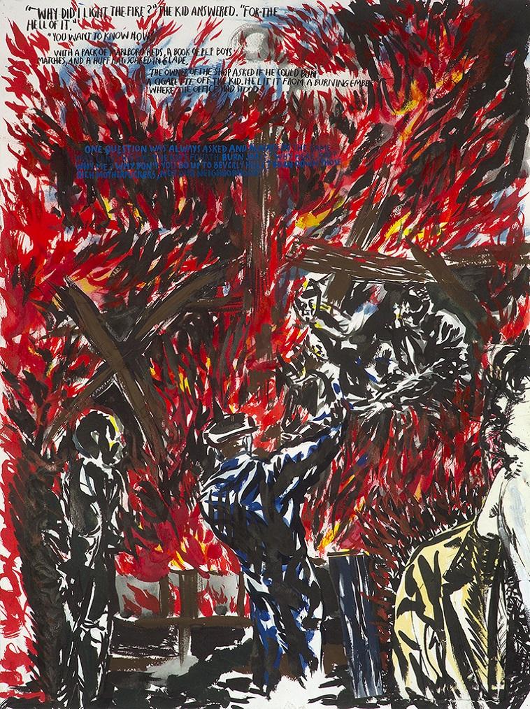 ריימונד פטיבון, ללא כותרת (למה עשיתי...), 2006