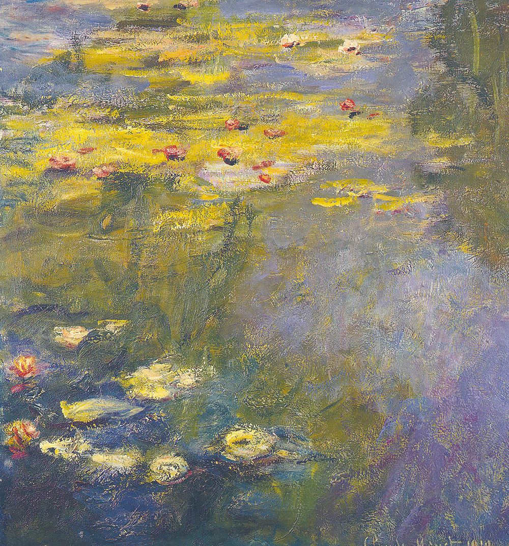 Claude Monet, Water Lily Pond, 1919