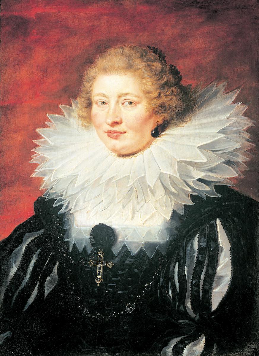 פטר פאול רובנס, דיוקן מאדאם דה ויק, 1625