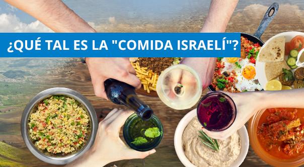 El plato no. 1 de Israel