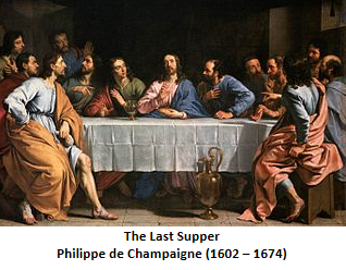 """The Last Supper"" - Philippe de Champaigne (1602 – 1674)"