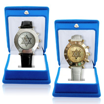 Join a Hebrew course and receive a stunning Star of David wristwatch!