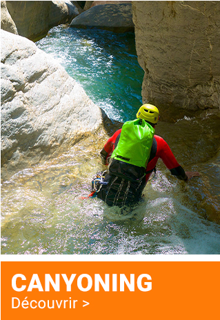 CANYONING | Découvrir  >