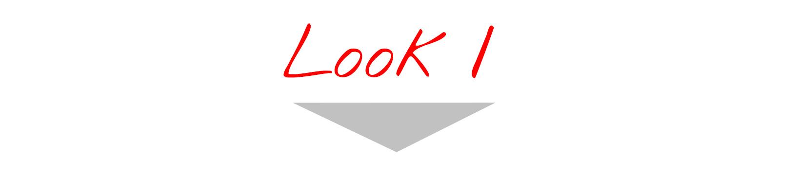 Look n°1