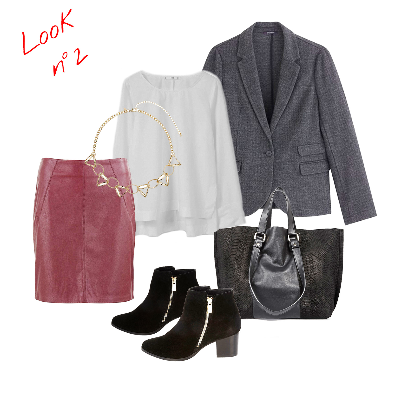 Composition du look n°2