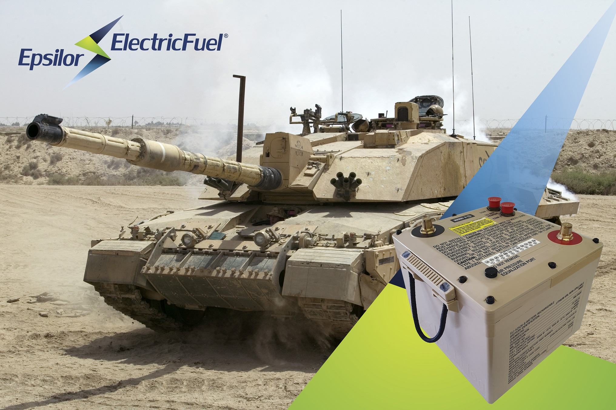 Epsilor's Li-Ion 6T Battery in Evaluation by 10 Military and Defense Customers